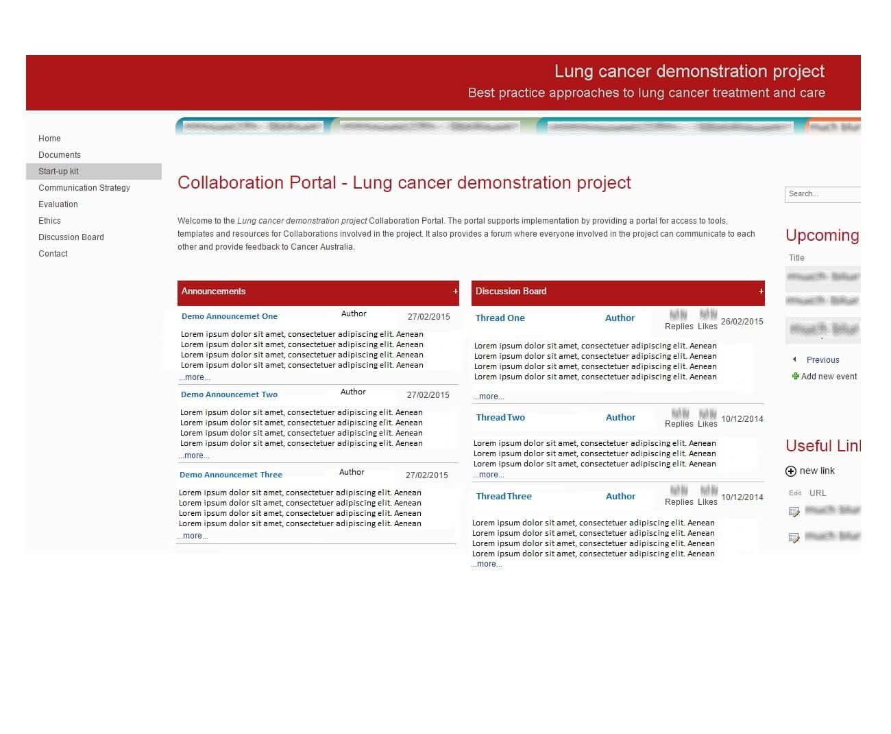 Cancer Australia Sharepoint   Chill IT   Website Development