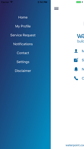 Waterpoint App | Mobile App iOS Android | Chill IT