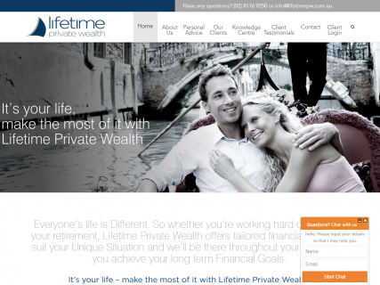 Lifetime Private Wealth